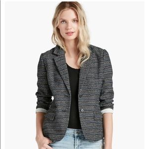 Lucky Brand Striped City Blazer